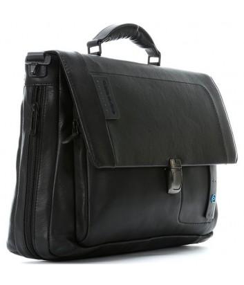Кожаный портфель Piquadro Pulse CA3111P15 черный