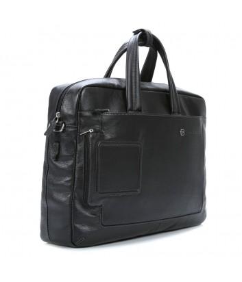 Кожаная сумка-портфель Piquadro Vibe CA3147VI черная