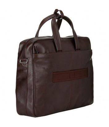 Кожаная сумка-портфель Piquadro Vibe CA3147VI коричневая