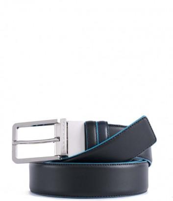 Кожаный мужской ремень Piquadro Blue Square CU2619B2 черный