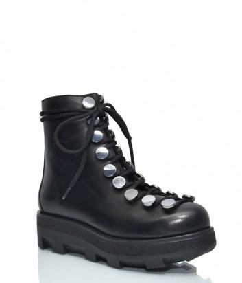 Черные ботинки H'oro Nero 203 с декором черные
