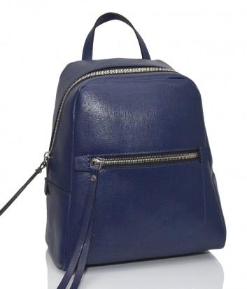 Рюкзак из сафьяновой кожи Gianni Chiarini 9249 с одним отделом синий