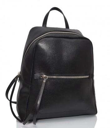 Рюкзак из сафьяновой кожи Gianni Chiarini 9230 с одним отделом черный