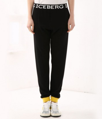 Спортивные брюки ICEBERG с эластичным поясом и логотипом