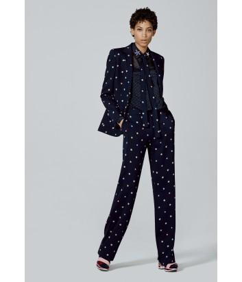 Черные женские брюки ICEBERG с принтом звезд