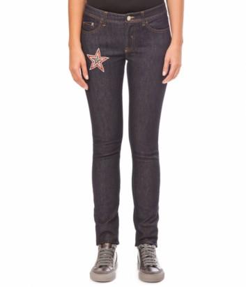 Женские джинсы ICEBERG с аппликацией в виде звезды