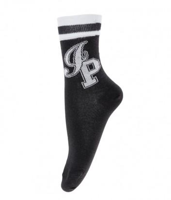 Черные носки ICE PLAY с люрексом и логотипом