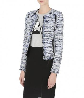 Женский пиджак Karl Lagerfeld TWEED JACKET на молнии