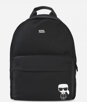 Черный рюкзак Karl Lagerfeld модель унисекс