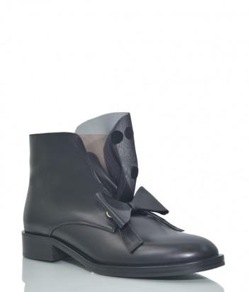 Кожаные ботинки Helena Soretti 5046 черные