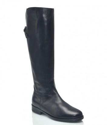 Кожаные сапоги Alto Gradimento 1210 черные