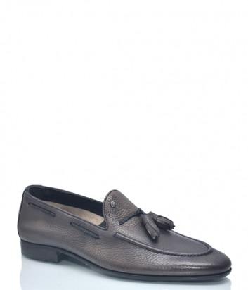Кожаные туфли Roberto Serpentini 1107 коричневые