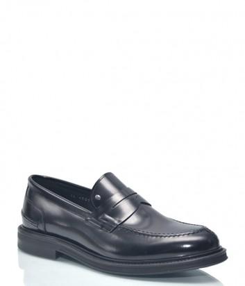 Мужские туфли Roberto Serpentini 9425 в полированной коже черные