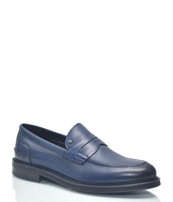 Мужские туфли Roberto Serpentini 9426 в гладкой коже синие