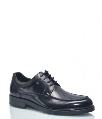 Мужские туфли Roberto Serpentini 9959 в полированной коже черные