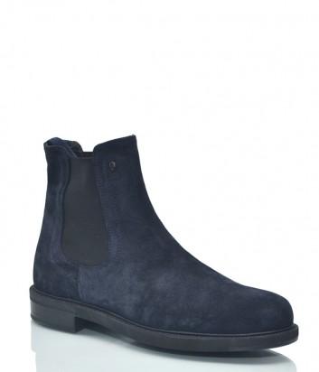 Замшевые ботинки Roberto Serpentini 8635 синие