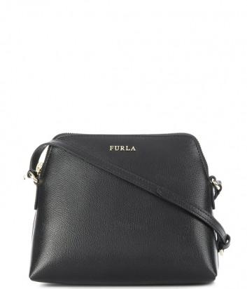 Набор матрешка Furla Boheme 967779 черная сумка и две цветные косметички