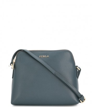 Набор матрешка Furla Boheme 978539 серая сумка и две цветные косметички