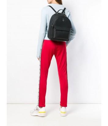 Кожаный рюкзак Furla Favola 998396 с внешним карманом черный