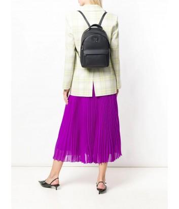 Маленький кожаный рюкзак Furla Favola 978498 с внешним карманом черный