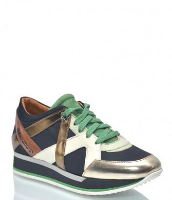 Женские кроссовки Jimmy Choo 9002 цветные