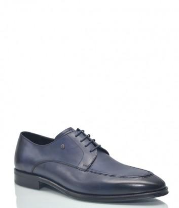 Мужские туфли Roberto Serpentini 9318 в гладкой коже синие