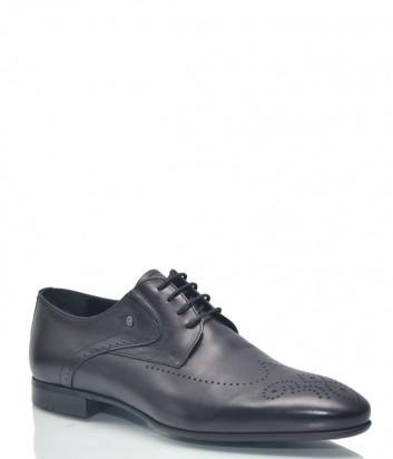 Классические туфли Roberto Serpentini 9327 с перфорацией черные