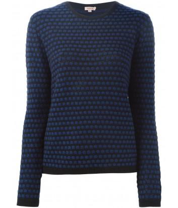 Женский свитер P.A.R.O.S.H. синий принт