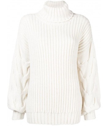 Кремовый свитер оверсайз P.A.R.O.S.H. с горловиной