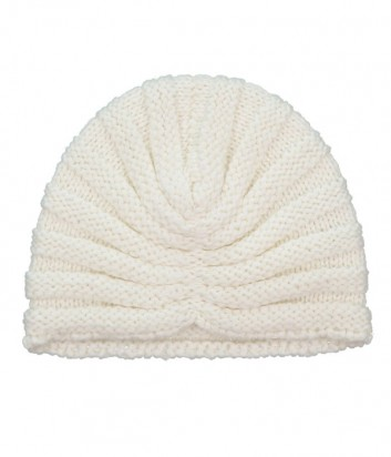 Женская трикотажная шапка-бини P.A.R.O.S.H. кремовая