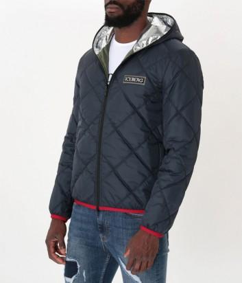 Мужская стеганная куртка ICEBERG одевается на две стороны