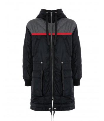 Мужская удлиненная куртка ICEBERG с капюшоном на молнии