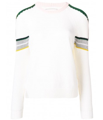 Молочный свитер ICEBERG с вырезами на плечах