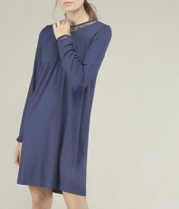Ночная рубашка Gisela 1522 синяя
