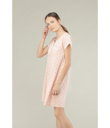 Ночная рубашка Gisela 1529 нежно-розовая