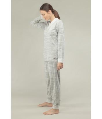 Женская пижама Gisela 1531 светло-серая