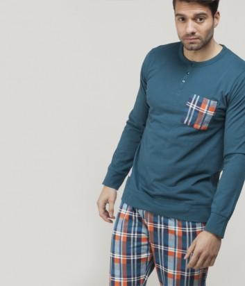 Мужская хлопковая пижама Gisela 1559