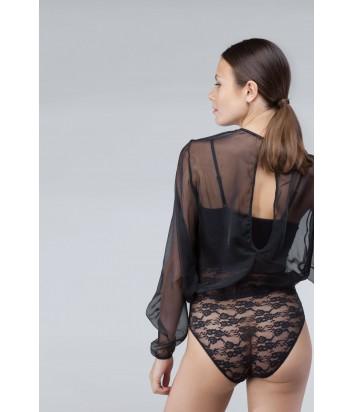 Комплект Gisela 0171 боди и блуза черный