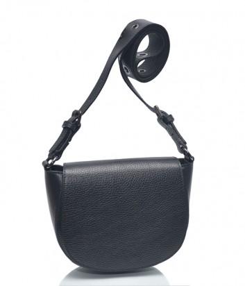 Кожаная сумка через плечо Leather Country 2293153 черная
