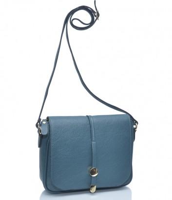 Кожаная сумка через плечо Leather Country 2290746 изумрудная