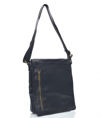 Кожаная сумка через плечо Leather Country 3592072 черная