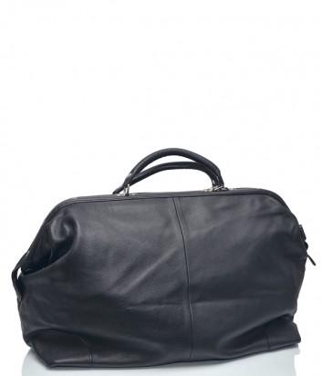 Большая кожаная сумка Leather Country 8582168 черная