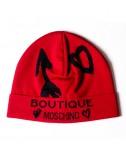 Женская шапка Moschino Boutique 65125 красная