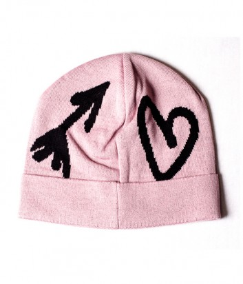 Женская шапка Moschino Boutique 65125 пудровая