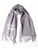 Теплый женский шарф Moschino Boutique 30587 светло-серый