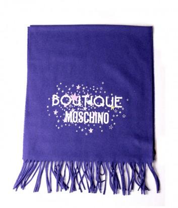 Теплый женский шарф Moschino Boutique 30587 фиолетовый