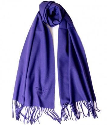 Теплый женский шарф Moschino Boutique 30313 фиолетовый