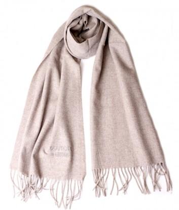 Теплый женский шарф Moschino Boutique 30313 кофейный