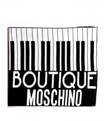 Шарф Moschino Boutique 30582 черно-белый