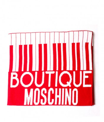 Шарф Moschino Boutique 30582 красный